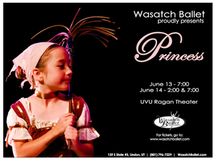 Princess 2014, Wasatch Ballet Original Production