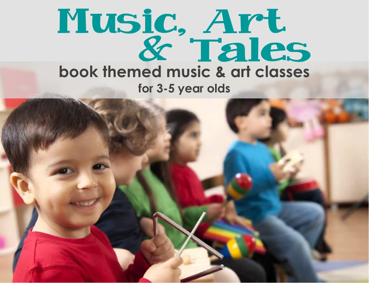 Music and Art Classes for Kids