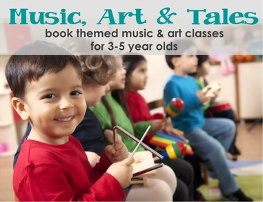 Art and Music Classes for children